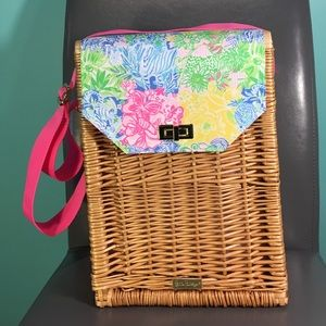 Lilly Pulitzer Wine Basket Tote